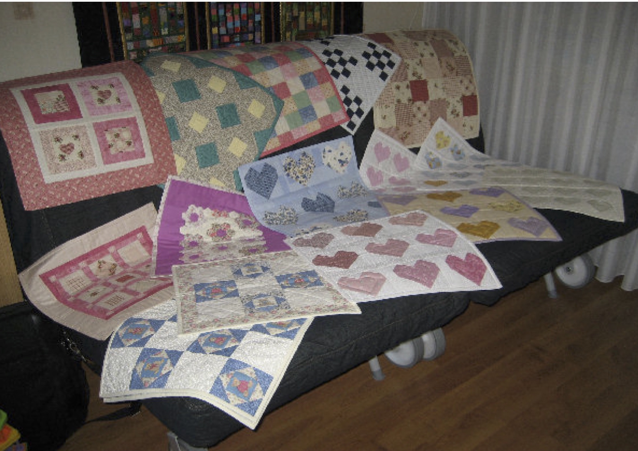 Little Quilt Of Love.Sa Quilters Guild Quilts Of Love